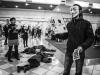 Flashmob Rovigo Settimana Mondiale per l'Abolizione della Carne