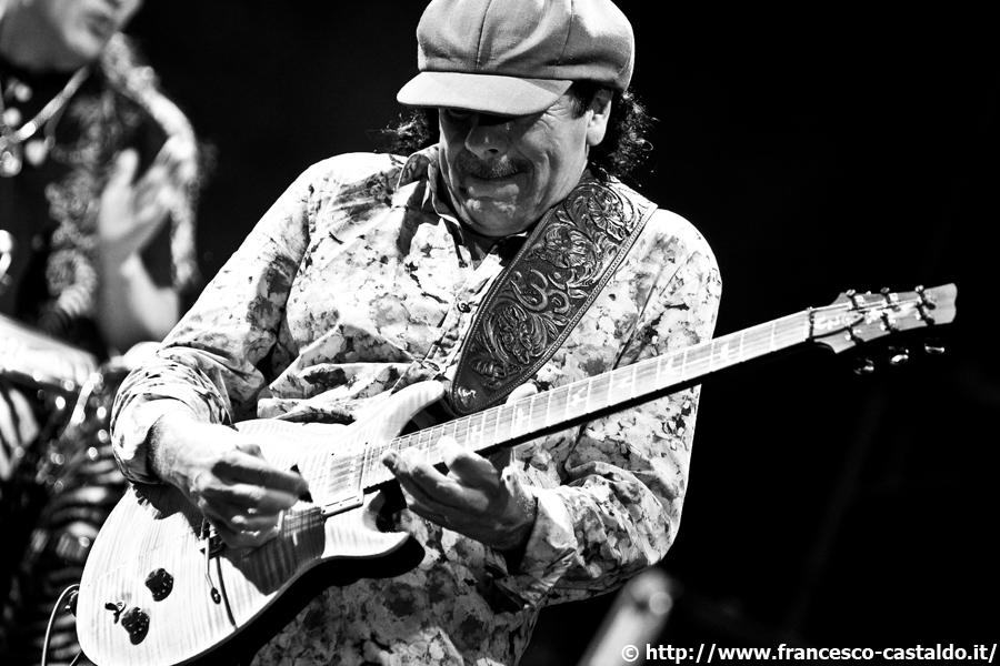 Carlos Santana – Piazza della Loggia – Brescia