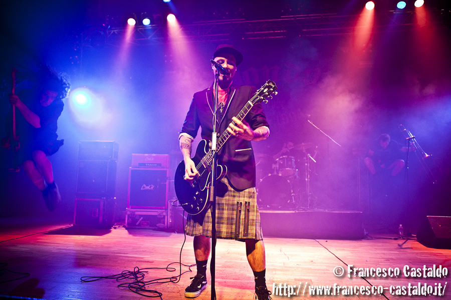 Shandon + The Real McKenzies – Live Club – Trezzo Sull'Adda (Milano)