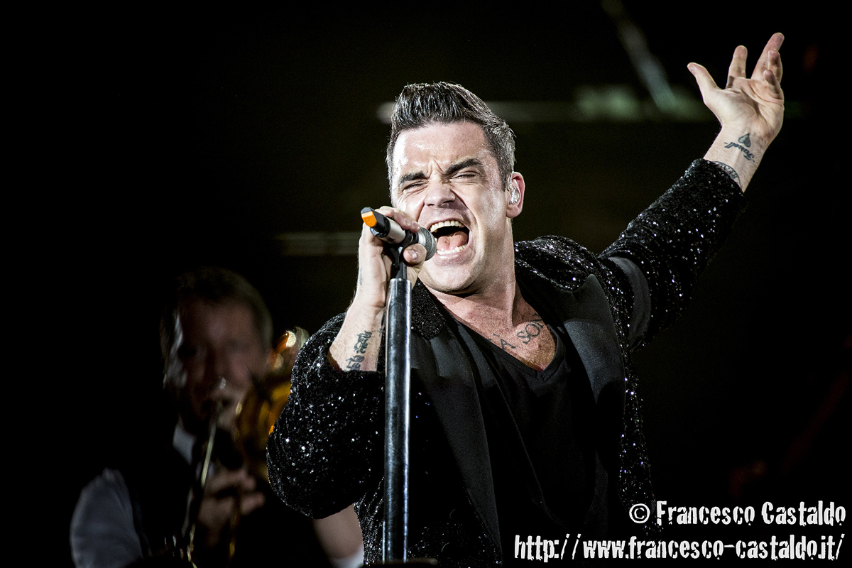 Robbie Williams – Stadio San Siro – Milano