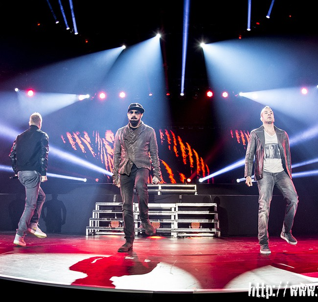Backstreet Boys – Mediolanum Forum – Assago